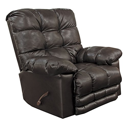 Catnapper Top Grain Leather Touch Rocker Recliner