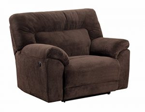 Simmons Upholstery Madeline Power Cuddler Recliner