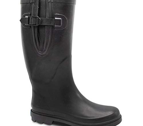 ZOOGS Extra Wide Calf Rubber Rain Boots
