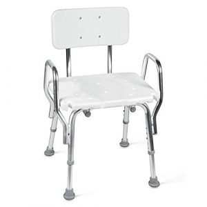 Tub and Shower Chair with Removeable Backrest
