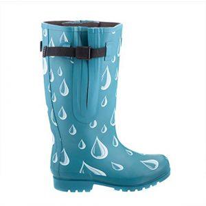ileon Extra Wide Calf Rubber Rain Boots