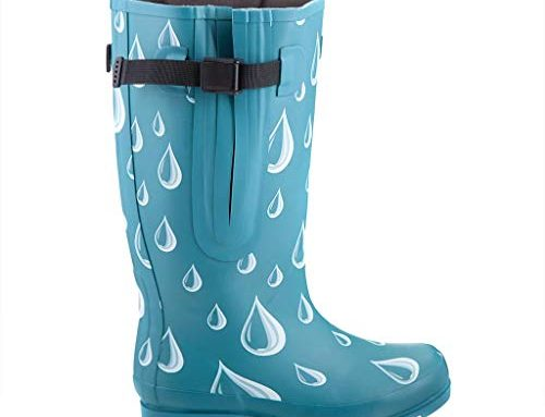 Jileon Extra Wide Calf Rubber Rain Boots for Women Review
