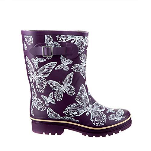 Wide calf rain boots for women - Top