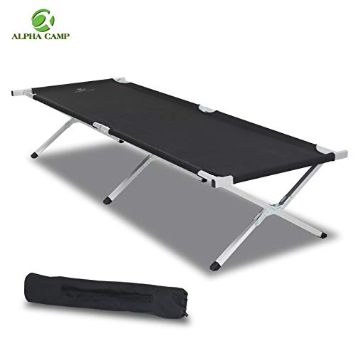 ALPHA CAMP Oversized Camping Cot