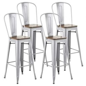 Mecor Metal Bar Stools