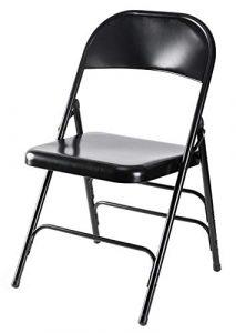 Bold Tones Folding Chair - 300 lb