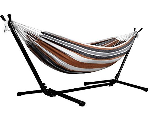Heavy duty hammock with stand - Extra Large Living