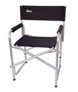 Earth Extra Heavy Duty Folding Short Director's Chair