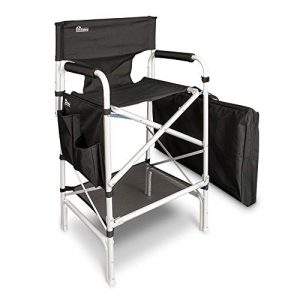 Earth Heavy Duty VIP Tall Aluminum Director's Chair-325 lbs