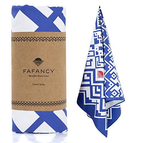 FAFANCY Microfiber Beach Towel