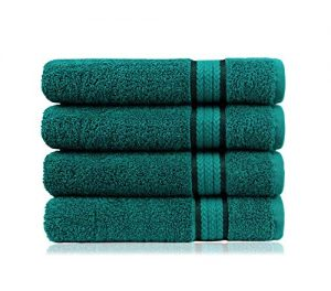 COTTON CRAFT Ultra Soft 4 Pack Oversized Extra Large Bath Towels