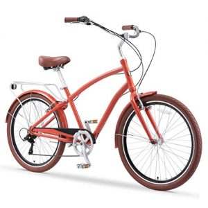 SixThreeZero EVRYjourney Men's Single Speed Hybrid Cruiser Bicycle
