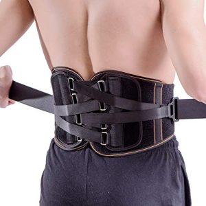 King of Kings Lower Back Brace Pain Relief with Pulley System