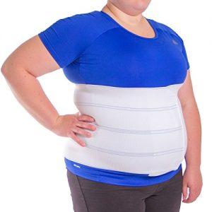 BraceAbility 2XL Plus Size Bariatric Abdominal Stomach Binder