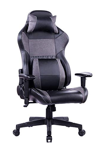 HEALGEN Reclining Gaming Chair with Adjustable Massage