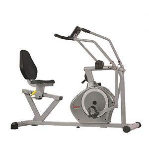 Sunny Health & Fitness Magnetic Recumbent Bike Exercise Bike