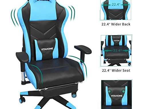 Best Massage Gaming Chairs – 400 lb Capacity