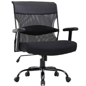 Big and Tall Office Chair 500lbs Wide Seat Desk Chair