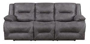 MorriSofa Everly 3 Seat Lay-Flat Dual Reclining Sofa