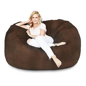 Lumaland Luxury 5-Foot Bean Bag Chair