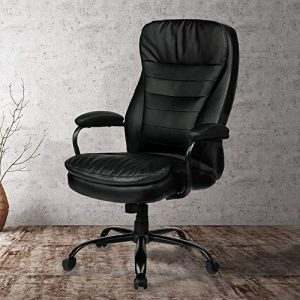 Amolife Office Chair Heavy Duty Executive Computer Chair