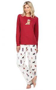 PajamaGram Women Flannel Pajama Set