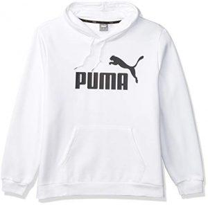 PUMA Men's Tall Essentials Big Logo Full Zip Hoodie
