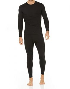 Thermajohn Men's Ultra Soft Thermal Underwear Long Johns Set