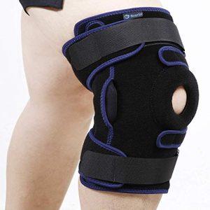 Nvorliy Plus Size Hinged Knee Brace