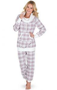 PajamaGram Soft Fleece Pajamas Women