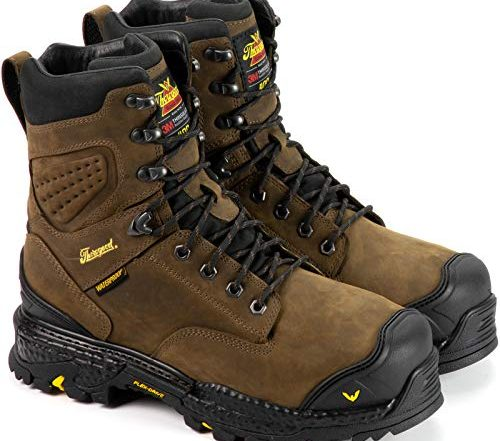 "Thorogood Men's Infinity FD Series 8"" Waterproof 400g Composite Safety Toe Work Boot"