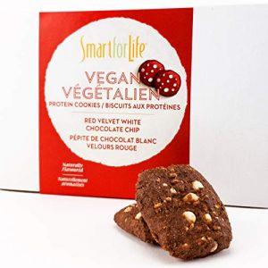 Vegan Red Velvet White Chocolate Chip Cookies