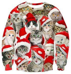 Ahegao Unisex Ugly Christmas Sweater
