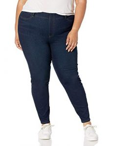 Amazon Essentials Women's Standard Plus Size Pull-on Knit Jegging