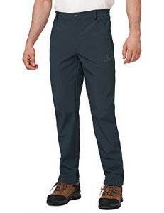 CAMEL CROWN Men's Softshell Pants Fleece Lined Insulated