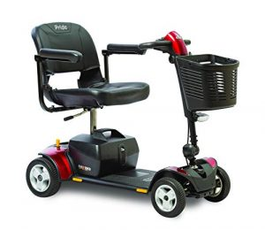 Pride Mobility Go-Go Traveler Elite Plus 4-Wheel Scooter SC54 for Adults