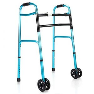 OasisSpace Heavy Duty Folding Walker