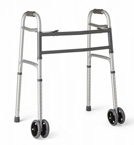 Medline Heavy Duty Bariatric Folding Walker