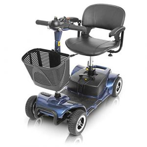 Vive 4 Wheel Mobility Scooter - Electric Powered Wheelchair Device