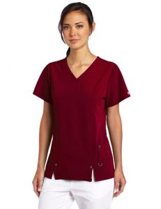 Dickies Women's Xtreme Stretch V-Neck Scrubs Shirt