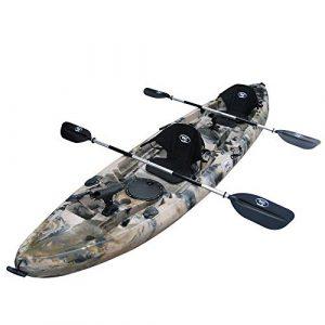 BKC TK181 12.5' Tandem Sit on Top Kayak