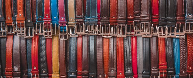 Mens belt sizes
