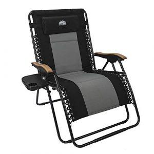 Coastrail Outdoor Oversized Zero Gravity Chair 400 lbs