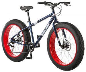 The Mongoose Dolomite Fat Tire Mountain Bike