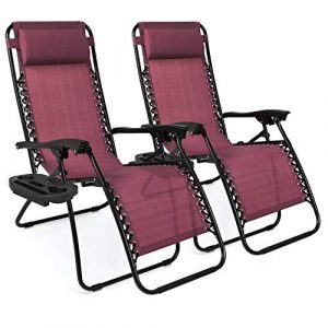 Best Choice Products Set of 2 Zero Gravity Chairs Recliners