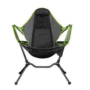 Jiating Folding Camp Chair, Camping Swing Luxury Recliner