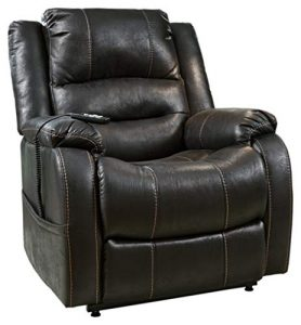Signature Design by Ashley Yandel Upholstered Power Lift Recliner