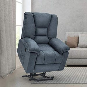 Esright Power Lift Microfiber Electric Recliner Chair