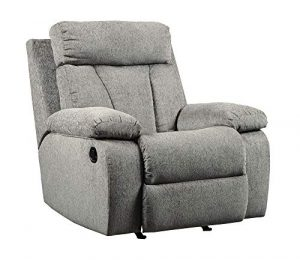 Mitchiner Contemporary Upholstered Rocker Recliner