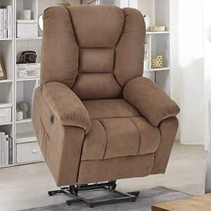 YODOLLA Electric Power Lift Chair Heated Vibration Massage Chair